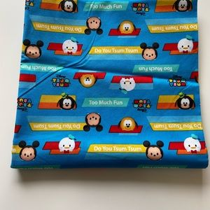 Tsum Tsum cotton fabric material 1 yard